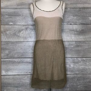 Tommy Bahama Crochet Dress Sleeveless Size S